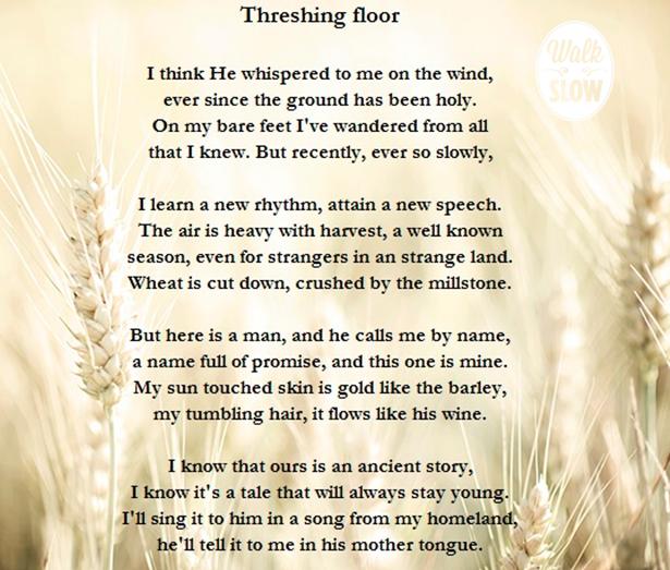threshing floor